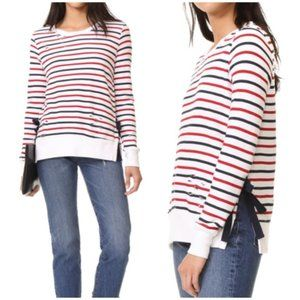 Pam & Gela Stripe Print Fleece